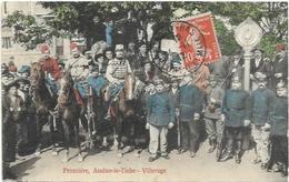 D 54.  VILLERUPT. FRONTIERE AUDUN LE TICHE - Autres Communes