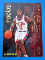LOU ROE NBA CARDS FLEER 1996 N 376 - Trading Cards