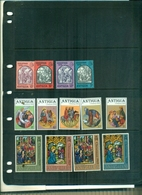 ANTIGUA NOEL 69-70-76 13 VAL NEUFS A PARTIR DE 0.60 EUROS - Religieux