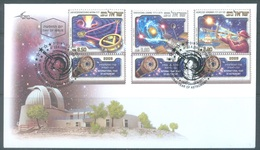 ISRAEL - FDC - 22.4.2009 - ASTRONOMY - Yv 1959-1961 - Lot 19304 - FDC