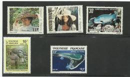 Polynésie, Lot De Neufs * &** & Oblitérés, Certains Avec Traces De Rousseurs - Collections, Lots & Séries