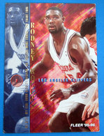RODNEY ROGERS  CARDS FLEER 1996 N 299 - Trading Cards