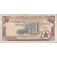 TWN - GHANA 2a - 1 Pound 1.7.1958 E/1 870530 F/VF - Ghana