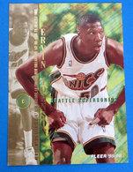 ERVIN JOHNSON  CARDS FLEER 1996 N 322 - Trading Cards