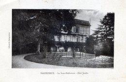 BARBEZIEUX 16 La  Sous Préfecture Côté Jardin 1928 - France