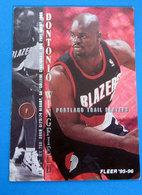 DONTONIO WINGFIELD  CARDS FLEER 1996 N 317 - Altri
