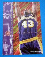 CORIE BLOUNT  CARDS FLEER 1996 N 301 - Trading Cards