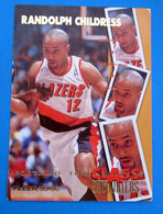 RANDOLPH CHILDRESS  CARDS FLEER 1996 N 452 - Trading Cards