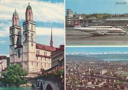 ZURIGO  /   Aeroporto In Vedutina _ Viaggiata - Aerodromi
