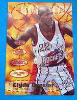 CLYDE DREXLER  CARDS FLEER 1996 N 290 - Trading Cards