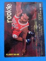 JASON CAFFEY  CARDS FLEER 1996 N 355 - Trading Cards