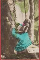 CP - Belgique - 1906 - Oranotypie - Jeune Fille .. - Femmes