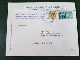 (28998) STORIA POSTALE ITALIA 1973 - 1971-80: Storia Postale
