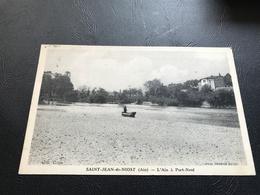 SAINT JEAN DE NIOST L'Ain à Port Neuf - 1942 Timbrée (Petain) - Frankreich