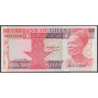 TWN - GHANA 19b - 5 Cedis 2.1.1980 Prefix AM UNC - Ghana