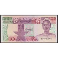 TWN - GHANA 20c - 10 Cedis 2.7.1980 Prefix BD UNC - Ghana