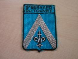 Ecusson   ST BERNARD DU TOUVET - Patches