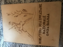 Pagella 1932-1933 Nazionale Opera Balilla Verona - Diplomi E Pagelle