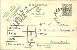 BELGIO    1954    FORO  D'ARCHIVIO - Interi Postali