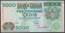 TWN - GHANA 34j - 5000 5.000 Cedis 4.8.2006 Prefix EK UNC - Ghana