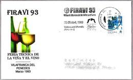 FIRAVI 93. Feria Tecnica De La Viña Y El Vino - Vilafranca Del Penedes 1993 - Vinos Y Alcoholes