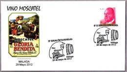 VINO MOSCATEL - WINE. Malaga, Andalucia, 2012 - Vinos Y Alcoholes