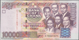 TWN - GHANA 35c - 10000 10.000 Cedis 4.8.2006 Prefix ET UNC - Ghana
