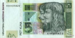 Croatie 5 Kuna (P37) 2001 -UNC- - Croatie
