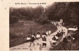 BAYE ( Marne ) - Procession De St-roch - France