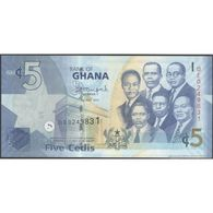TWN - GHANA 38e - 5 Cedis 1.7.2014 Prefix QE UNC - Ghana