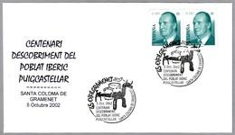 POBLADO IBERICO DE PUIGCASTELLAR. IBERIC VILLAGE. Santa Coloma, Barcelona, 2002 - Arqueología