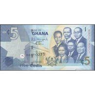 TWN - GHANA 38f - 5 Cedis 1.7.2015 Prefix QQ UNC - Ghana