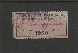 FISCAL - FISCAUX - TIMBRE DE VIANDE - A8 - 1950 - Fiscali