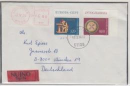 JOUGOSLAVIA EXPRESS MICHEL 1635/36 EUROPA 1976 - 1945-1992 République Fédérative Populaire De Yougoslavie