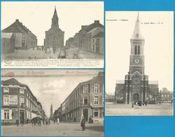 (G129) LA LOUVIERE - Rue Hamoir - L'Eglise - La Place - La Louvière