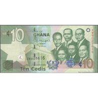 TWN - GHANA 39e - 10 Cedis 1.7.2014 Prefix SW UNC - Ghana