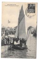 85 Croix De Vie Bapteme D'une Barque De Pêche (2 Scans) - Other Municipalities