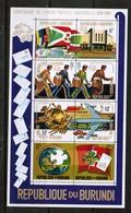 BURUNDI   Scott # 463c** VF MINT NH Souvenir Sheet (SS-385) - Burundi