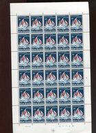 Belgie 1964 1292 Socialism Flames Fire   Luppi Full Sheet MNH Plaatnummer 3 - Full Sheets