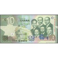 TWN - GHANA 39f - 10 Cedis 1.7.2015 Prefix TN UNC - Ghana