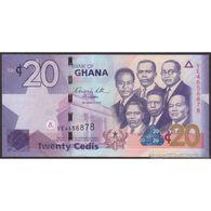 TWN - GHANA 40b - 20 Cedis 6.3.2010 Prefix VE UNC - Ghana
