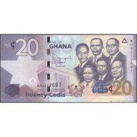 TWN - GHANA 40f - 20 Cedis 1.7.2015 Prefix WH UNC - Ghana