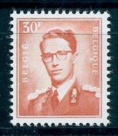 BELGIE Boudewijn Bril * Nr 1074 Of 74a Of 74b (6) * Postfris Xx * WIT  PAPIER - 1953-1972 Lunettes