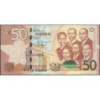 TWN - GHANA 42b - 50 Cedis 1.7.2014 Prefix XH UNC - Ghana