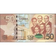 TWN - GHANA 42c - 50 Cedis 1.7.2015 Prefix XL UNC - Ghana