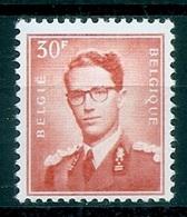 BELGIE Boudewijn Bril * Nr 1074  (11) * Postfris Xx * WIT  PAPIER - 1953-1972 Occhiali