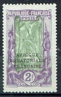 French Congo, Bakalois Woman, Overprint, 2f. 1924, MH VF - French Congo (1891-1960)