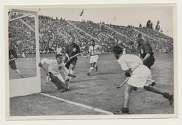 Sammelbild Vignette Olympia 1936 Hockey Deutschland Indien - Sport
