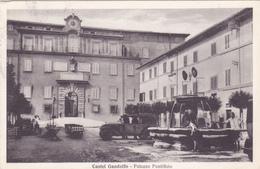 CPA ITALIE - CASTEL GANDOLFO - Palazzo Pontificio - Fontaine Automobile En 1935 - Italia