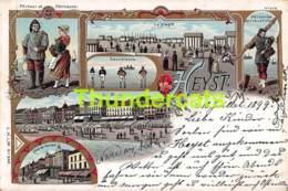 CPA HEIST HEYST SUR MER LITHO 1899 - Heist